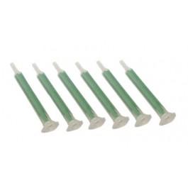 Mixer tips 6x voor 2-K lijm 50 ml, prijs is per 6 stuks.