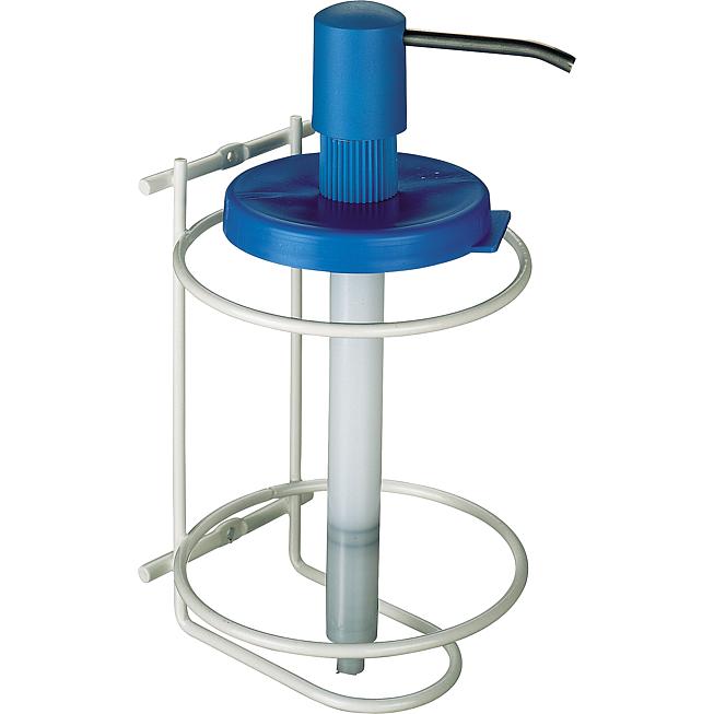Care Wandhouder met pomp/dispenser voor de 3 Liter pot handzeep.