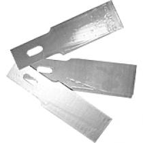 Inzet-mesjes 20mm voor de PU-Schraap-set, prijs is per 10 stuks.