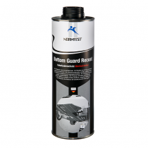 Bodembeschermer overspuitbaar zwart, Bottom guard Recoat 1000 ml.