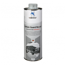 Bodembeschermer overspuitbaar grijs, Bottom Guard Recoat 1000 ml.