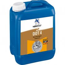 Remvloeistof DOT 4,  5 Liter.