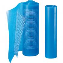 Contourfolie - 125 mm x 3,6 meter blauw.