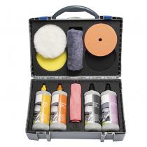 Starter-Set voor het professioneel polijsten van lakken.