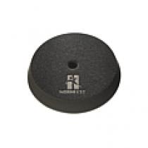 Poets-pad soft, zwart, 75mm, prijs is per 4 stuks.